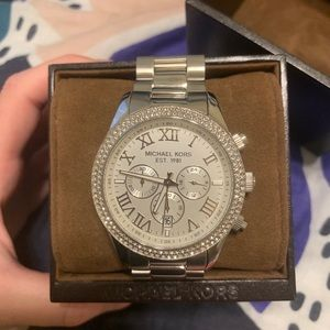 MICHAEL KORS - Silver Watch - Never Worn! NWT